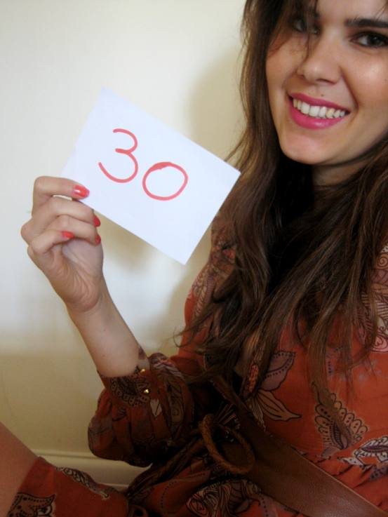 30 things to do before my 30s birthday
