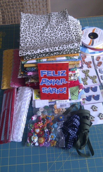 Birthday Gifts( yes.. they are all sewing related)