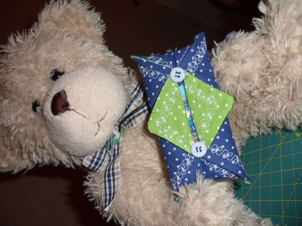 TED & Bobble . Tissue holder tutorial and a bow tie.