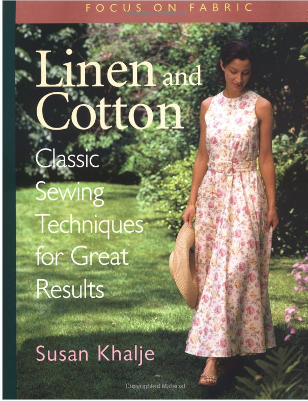 Book Review: Linen and Cotton. Classic Sewing Techniques for Great Results