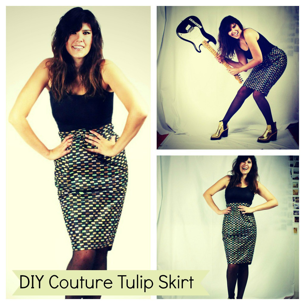 Awesomeness online! New DIY Couture free pattern.