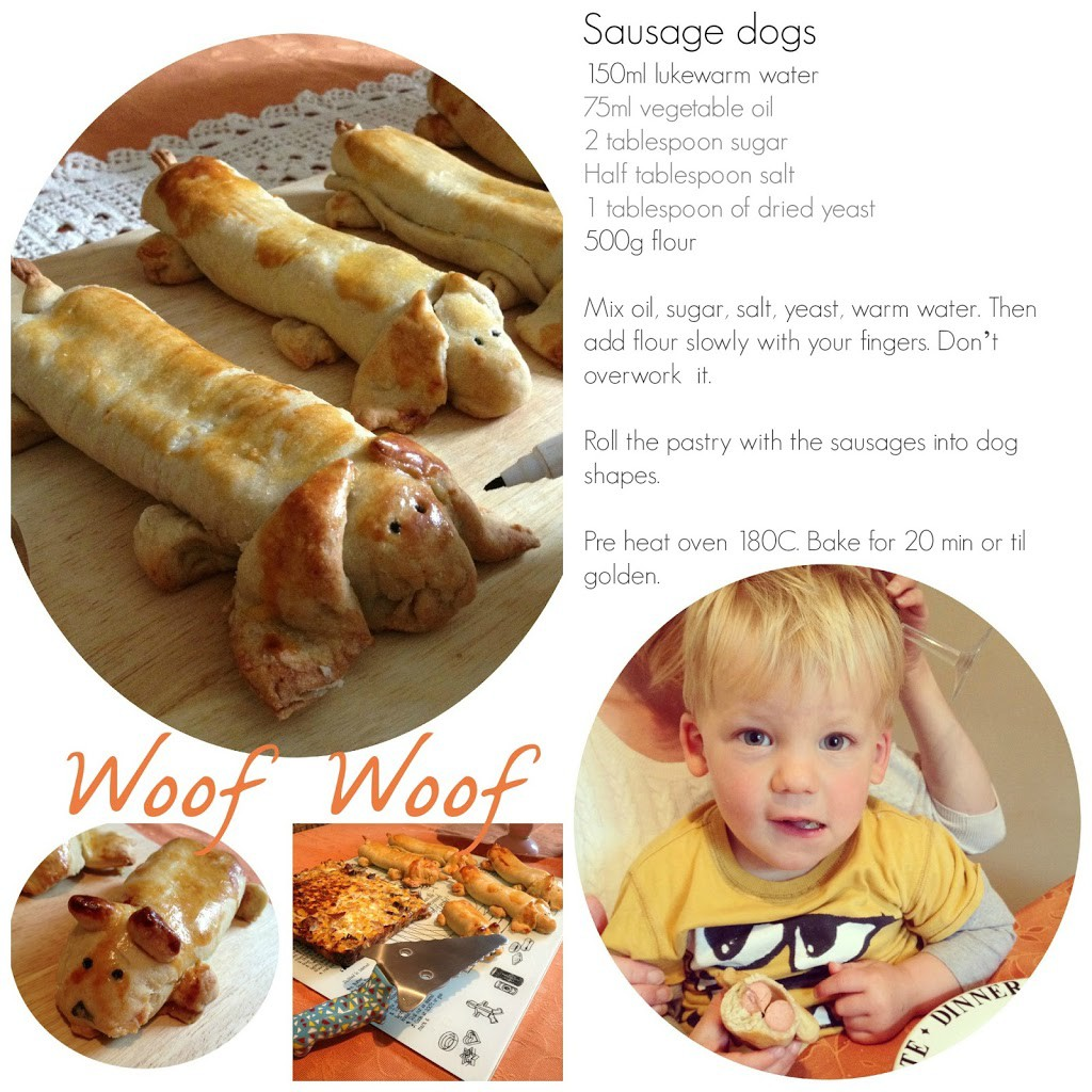 Food for kids: Sausages Dogs