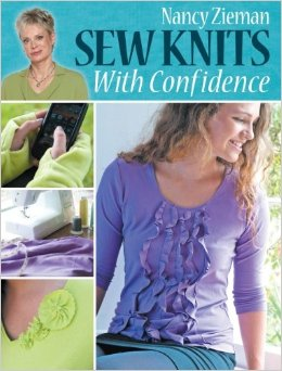 {Book Review} Sew Knits with Confidence by Nancy Zieman