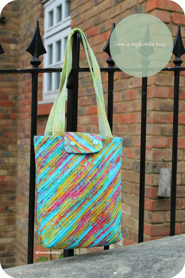 {How to} Sew a tagliatelle bag.