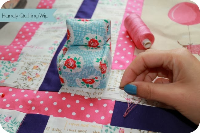 Hand Quilting…