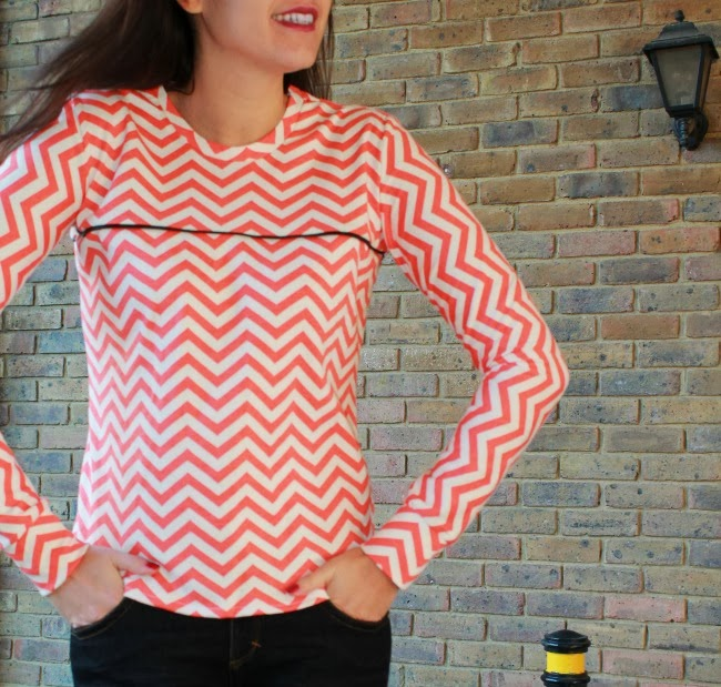 Ensis tee from Papercut Patterns