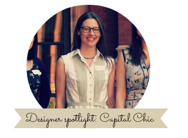 Designer spotlight: An interview with Sally, Capital Chic sewing patterns.