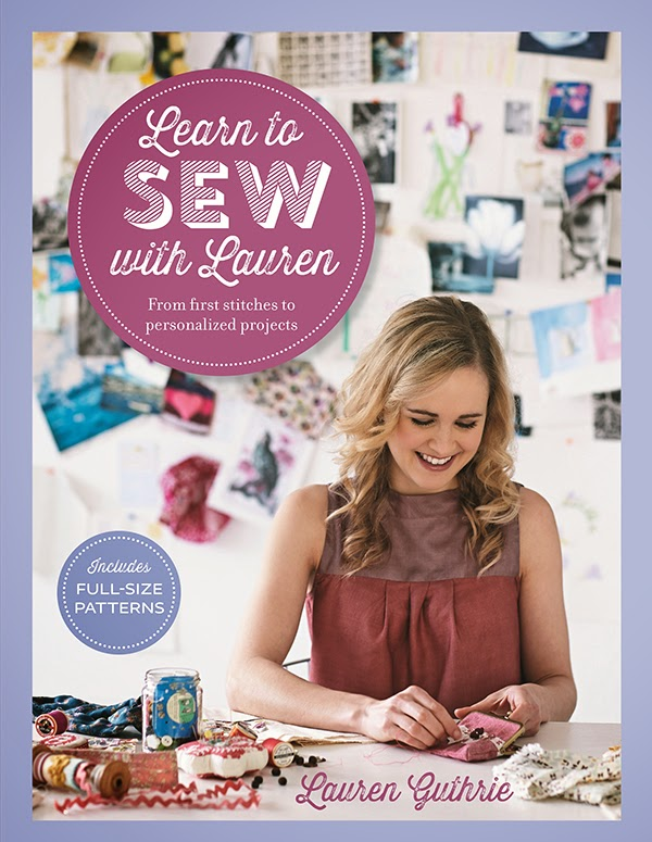 Learn to Sew with Lauren- book tour!