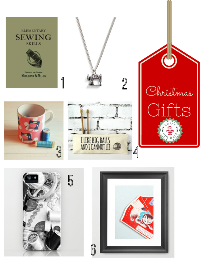 Gifts ideas for sewing enthusiasts