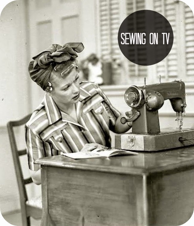Time machine: Sewing on TV