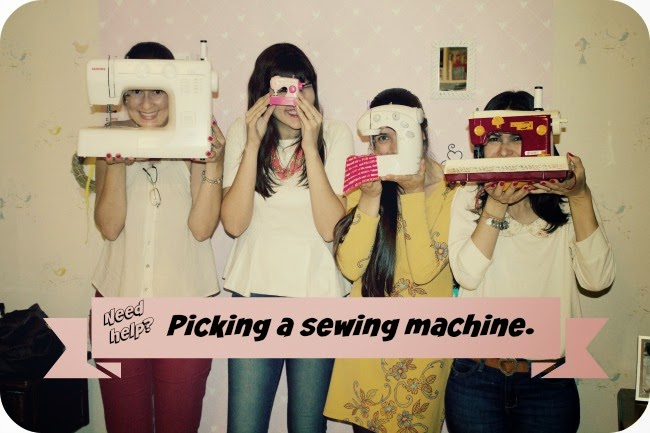 How to pick a sewing machine?