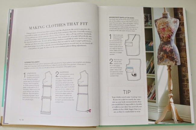 The Great British Sewing Bee Fashion With Fabric Inside The Book