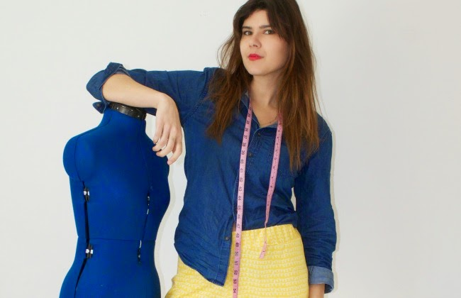 The Great British Sewing Bee Fashion with Fabric. Inside the book + ...