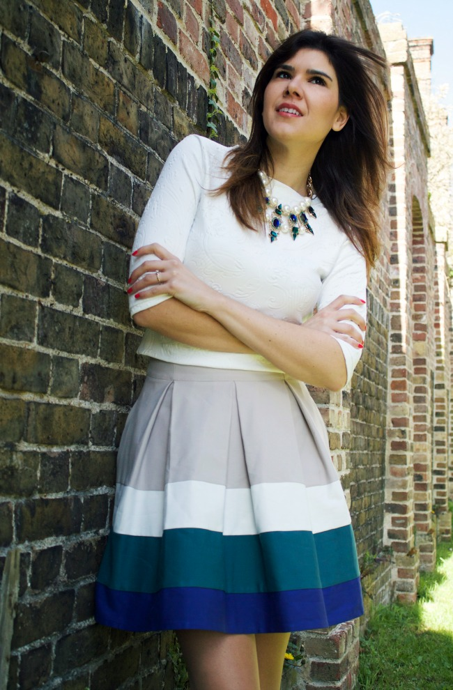 Astoria cropped sweater by Colette Seamwork