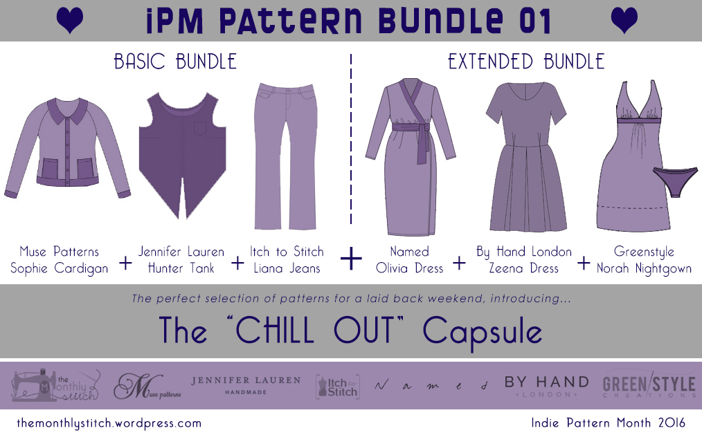 Ad:Chill Out capsule. Pattern bundle sale.