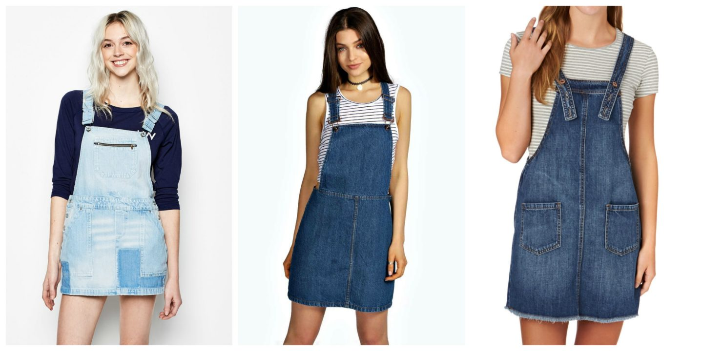 DIY Denim Dungaree Dress tutorial. u2013 House of Pinheiro